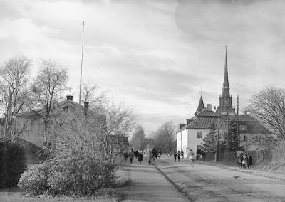 Platsen där Vasaloppsmålet byggdes