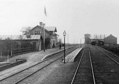 Mora Järnvägsstation i Noret